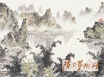 漓江秋色-局部3